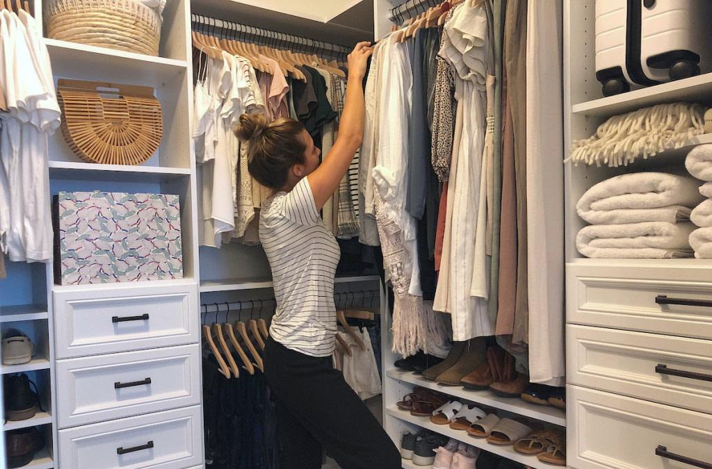 fashion idea women closet